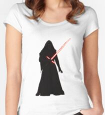 Kylo Ren Shadow Style Women's Fitted Scoop T-Shirt
