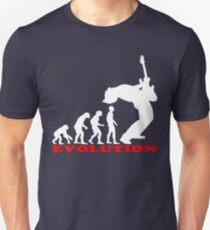 bass player, bass evolution Slim Fit T-Shirt