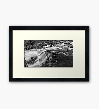 The Rivers Muscle Framed Print