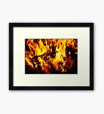 A Cold Winters Night Framed Print