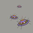 UFOs by Katerinka