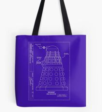 Bracewell's Ironside (Dalek) Blueprints Tote Bag