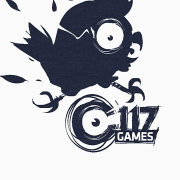 "C117 Games - ""Loco Pollo"" Logo Tee by C117Games"