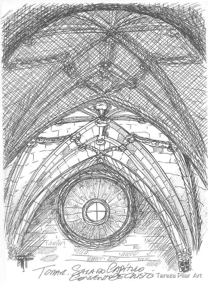 Tomar . Sala do Capítulo. Chapter Hall. by terezadelpilar ~ art & architecture