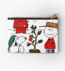 Snoopy and Charlie Brown Studio Pouch