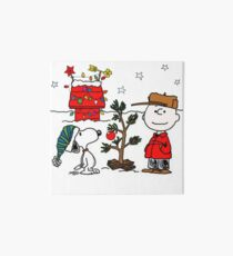 Snoopy and Charlie Brown Art Board