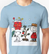 Snoopy and Charlie Brown Unisex T-Shirt