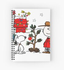 Snoopy and Charlie Brown Spiral Notebook