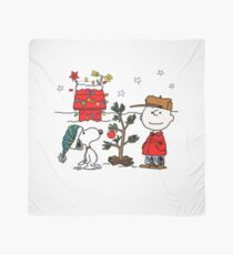 Snoopy and Charlie Brown Scarf