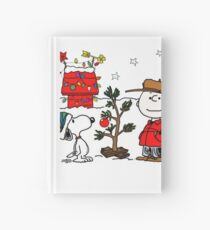 Snoopy and Charlie Brown Hardcover Journal