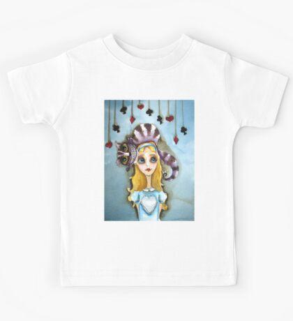 Alice in Wonderland - cat head Kids Clothes