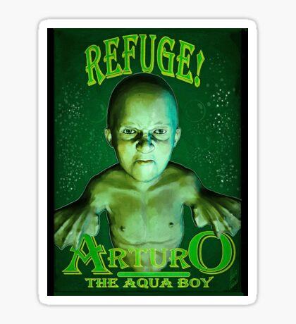 Arturo the Aqua Boy Sticker