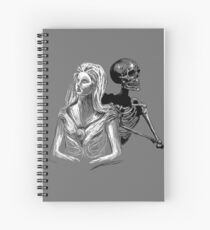 Death and the Maiden Spiral Notebook