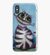 The Cheshire Cat - big smile iPhone Case/Skin