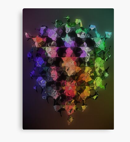 Geometry and abstract Canvas Print