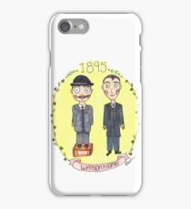 Holmes and Watson 1895 iPhone Case/Skin