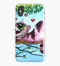 The Cheshire Cat - so much love iPhone Case/Skin
