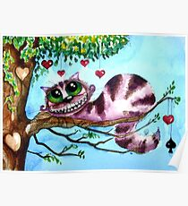 The Cheshire Cat - so much love Poster