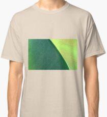 Close up Of Leaf Classic T-Shirt