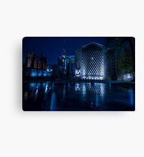 Coventry - Midnight Blue Cathedral Canvas Print