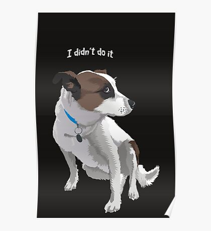 I didn't do it Poster