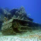 Undersea Wreck by diveroptic