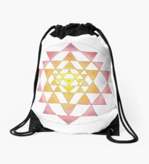 Sri Yantra 09 Drawstring Bag