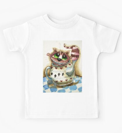 The Cheshire Cat - snuggly teapot Kids Clothes