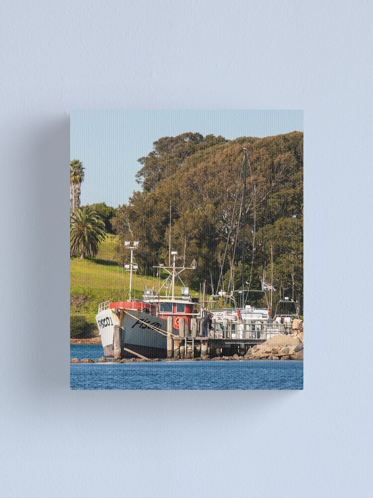 Alternate view of Jetty on Bluewater Drive, Narooma Canvas Print
