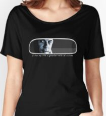 I Live My Life a Quarter-Mile at a Time Women's Relaxed Fit T-Shirt