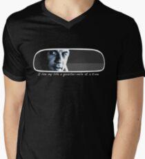 Camiseta para hombre de cuello en v Vivo mi vida a un cuarto de milla a la vez