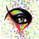 Rainbow Eyes by NoorDees