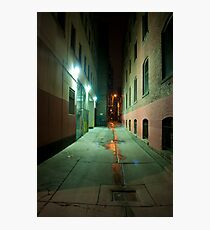 John Street Alley At Night Photographic Print