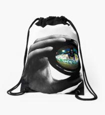 Parallels  Drawstring Bag