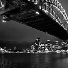 Harbour Bridge @ Night by liza1880