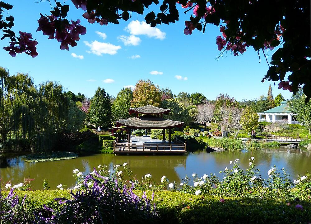 Japanese Garden by Sharon Brown