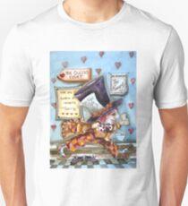The Mad Hatter - running fom court Unisex T-Shirt