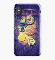 ♥ the Doctor iPhone Case