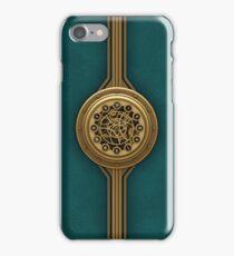 Steam Punk Decorative Leather Case  iPhone Case/Skin
