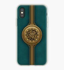 Steam Punk Decorative Leather Case  iPhone Case
