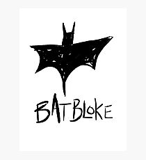 Bat Bloke Photographic Print