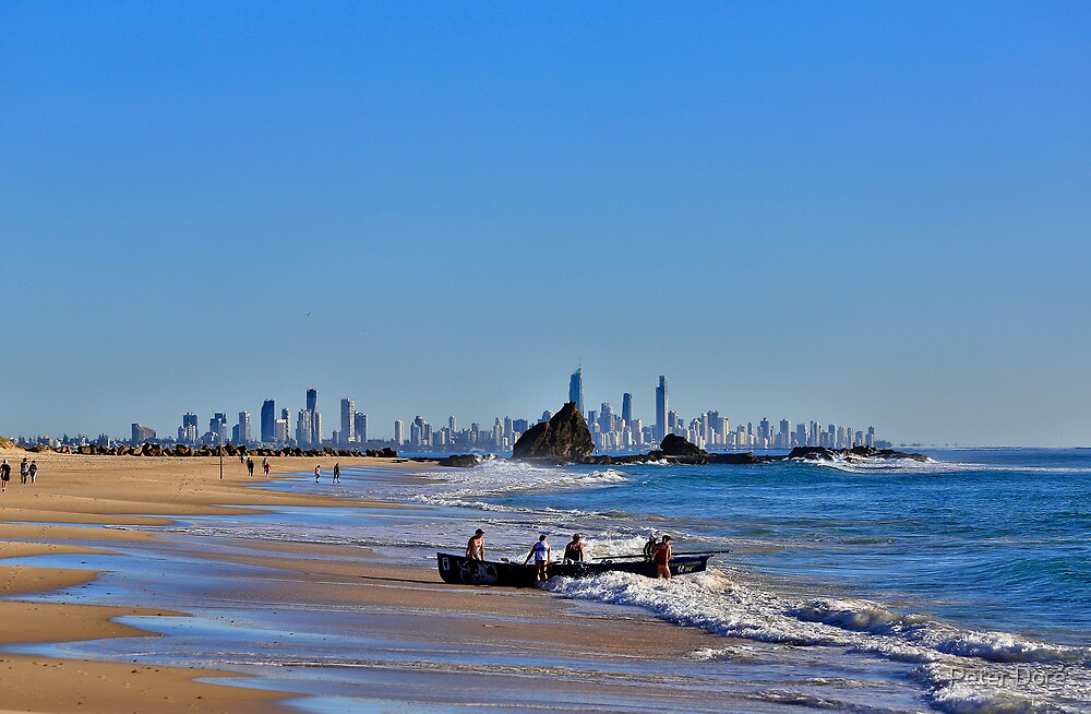 A view from Currumbin by Peter Doré