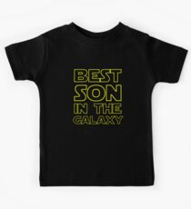 BEST SON IN THE GALAXY Kids Tee