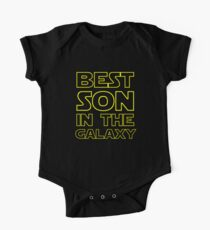 BESTER SOHN IN DER GALAXIE Baby Body Kurzarm