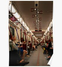 The Subway Car Goes On Forever Poster