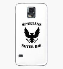 Halo Spartans Never Die Case/Skin for Samsung Galaxy