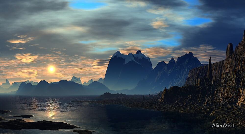 Castle Rock by AlienVisitor