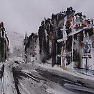Morningside Road, Winter by Ross Macintyre