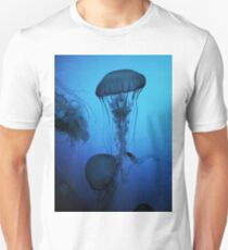 Portrait of a Jellyfish- Blue T-Shirt