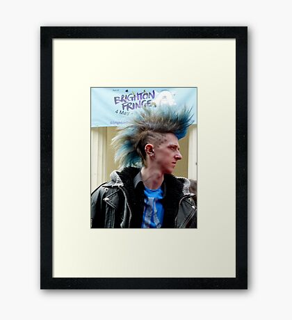 Brighton Fringe Framed Print